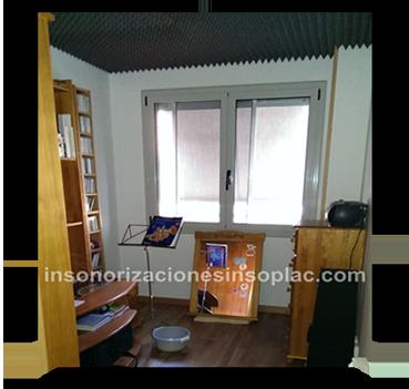 Insonorizar habitaci n insoplac - Insonorizar techo habitacion ...